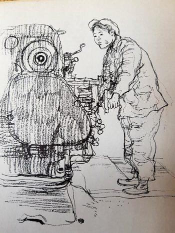 Paul Hogarths Creative Pencil Drawing Retroculturati