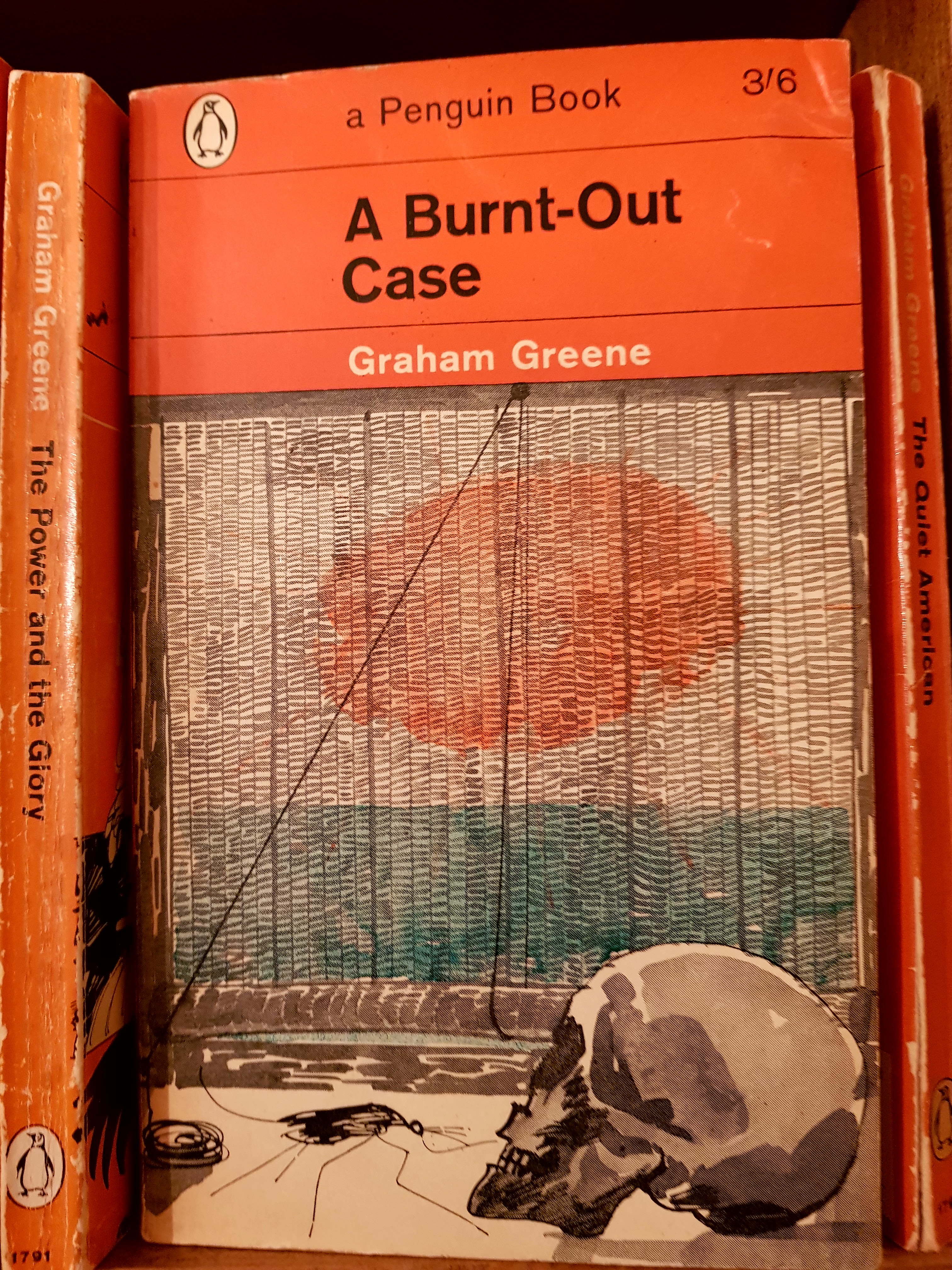 A burnt out case retroculturati in 1960 graham greenes a burnt out case was published a book written following his visits to the congo and the cameroons and in particular the leper gumiabroncs Choice Image
